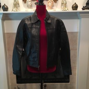 Wilson's Leather Jacket Ladies Size Small